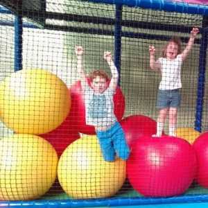having fun at little rascals soft play centre